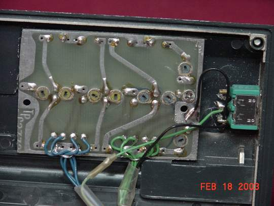 6 freq slim-line PCB